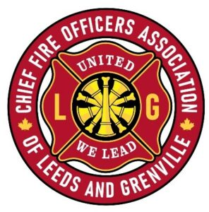 Chief Fire Officers Association of Leeds and Grenville Logo